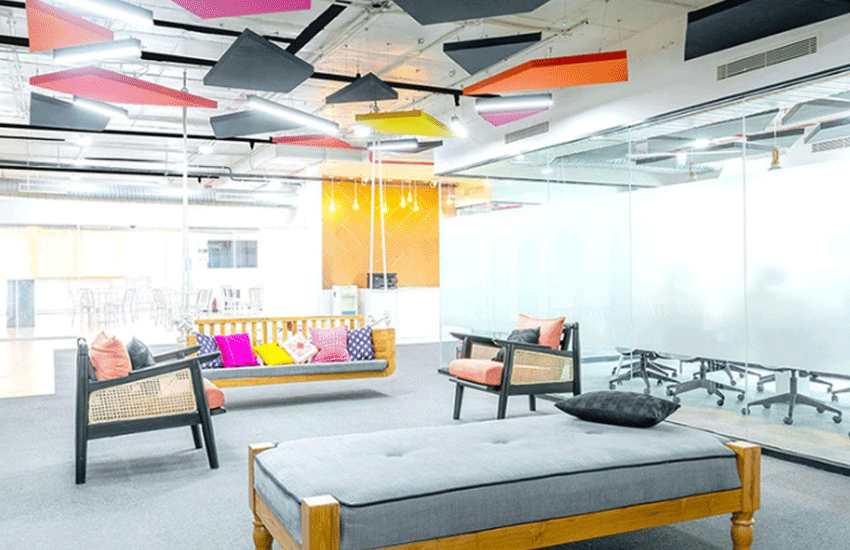 Best office space interior experience center in HSR Layout